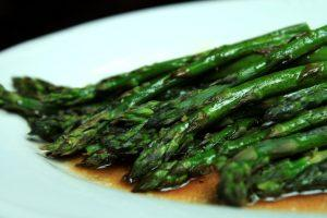 Olive~Me & Co's Baked Asparagus with Fig Balsamic