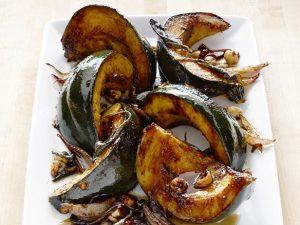 Olive-Me & Co.'s Maple Balsamic-Glazed Squash