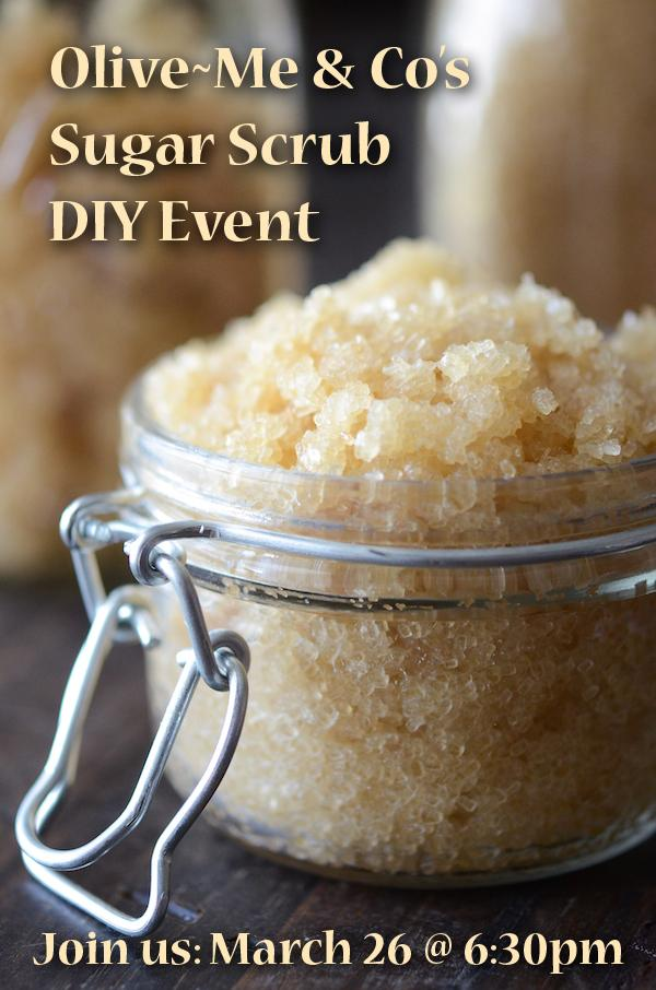 how to make lip scrub with sugar and olive oil