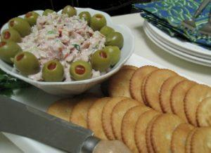 olive and ham spread